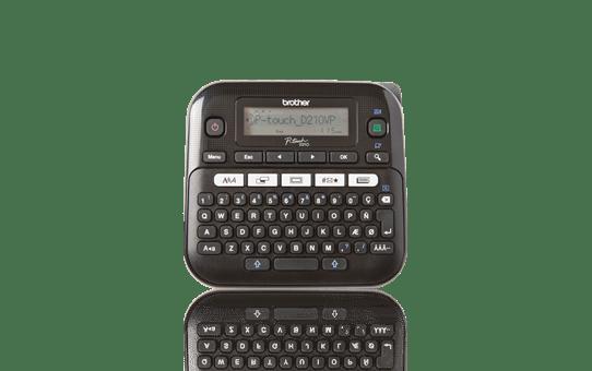 PT-D210VP imprimante d'étiquettes de bureau P-touch 12 mm