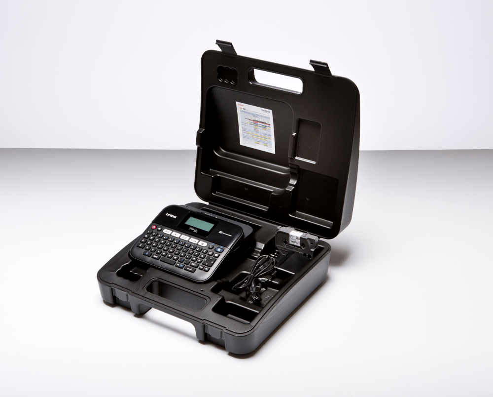 PT-D450VP étiqueteuse profesionnelle + mallette de transport 6