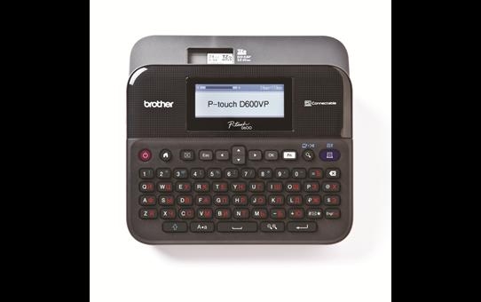 Принтер для печати наклеек PT-D600VP в офисе