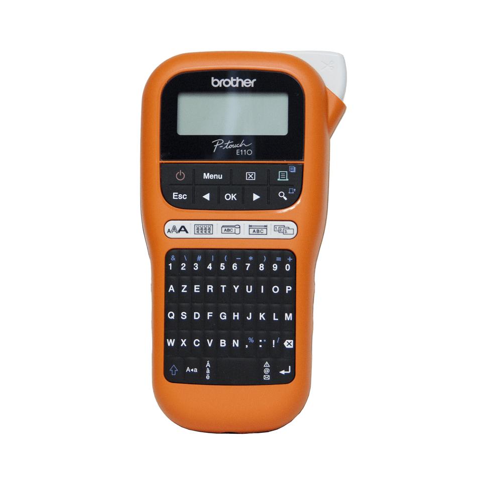 PT-E110VP étiqueteuse professionnelle