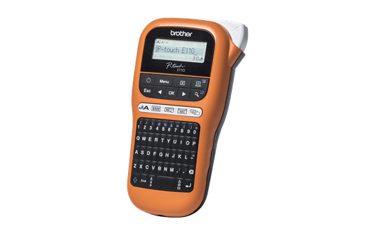 PT-E110VP Handheld Electrician Label Printer