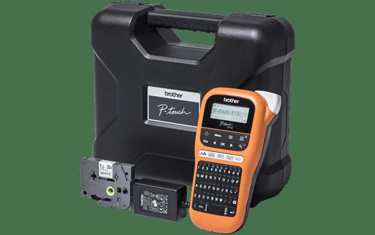 Принтер для печати наклеек PT-E110VPBUNDE для электрообрудования 4