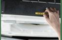 Принтер для печати наклеек PT-E110VPBUNDE для электрообрудования 9