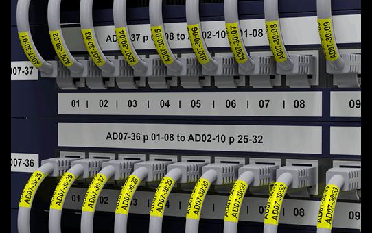 PT-E550WNIVP címkenyomtató készlet hálózati infrastruktúra kiépítéséhez 3