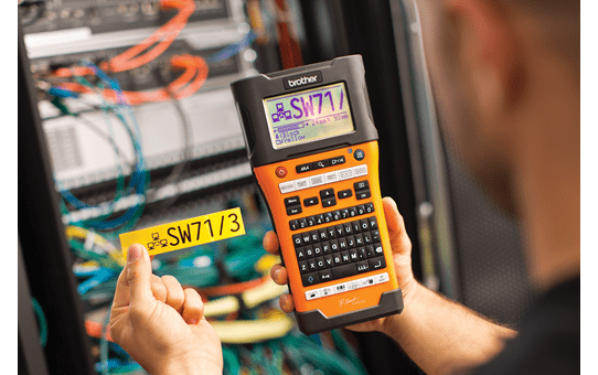 PT-E550WNIVP címkenyomtató készlet hálózati infrastruktúra kiépítéséhez 4