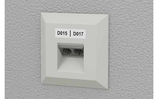 PT-E550WNIVP címkenyomtató készlet hálózati infrastruktúra kiépítéséhez 8