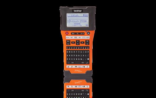 PT-E550WNIVP címkenyomtató készlet hálózati infrastruktúra kiépítéséhez