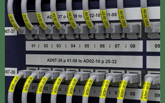 Brother PTE550WNIVP merkemaskin for identifikasjon av nettverksinfrastruktur og kabler 3