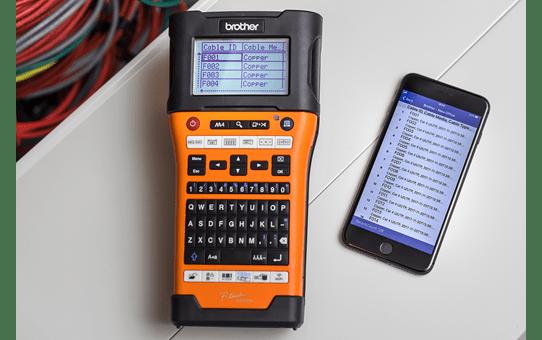 PT-E550WNIVP  märknings-kit för nätverksinstallatörer 5