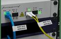 Brother PTE550WNIVP merkemaskin for identifikasjon av nettverksinfrastruktur og kabler 7
