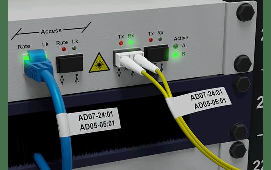PT-E550WNIVP - langaton tarratulostin verkkoasennuksiin 7