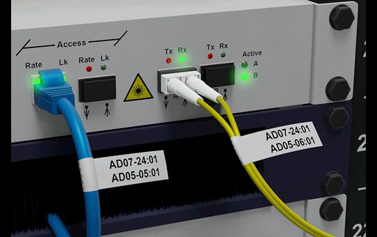 PT-E550WNIVP - set cu aparat de etichetare pentru rețele informatice 7