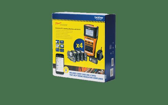 PT-E550WSP étiqueteuse P-touch 24mm pour électriciens 2