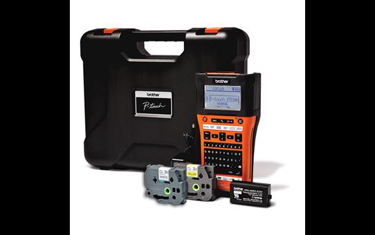 PT-E550WVP étiqueteuse portable P-touch 24mm pour électriciens & datacom 2