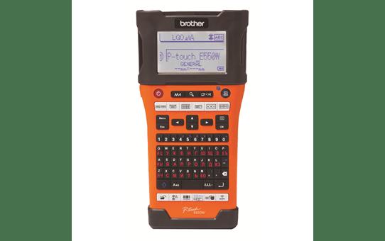 Принтер для печати наклеек PT-E550WVP для электрообрудования