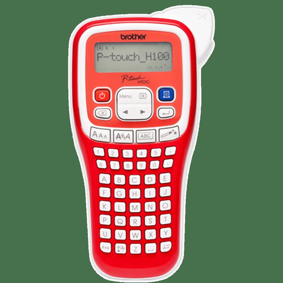 PT-H100R étiqueteuse P-touch rouge