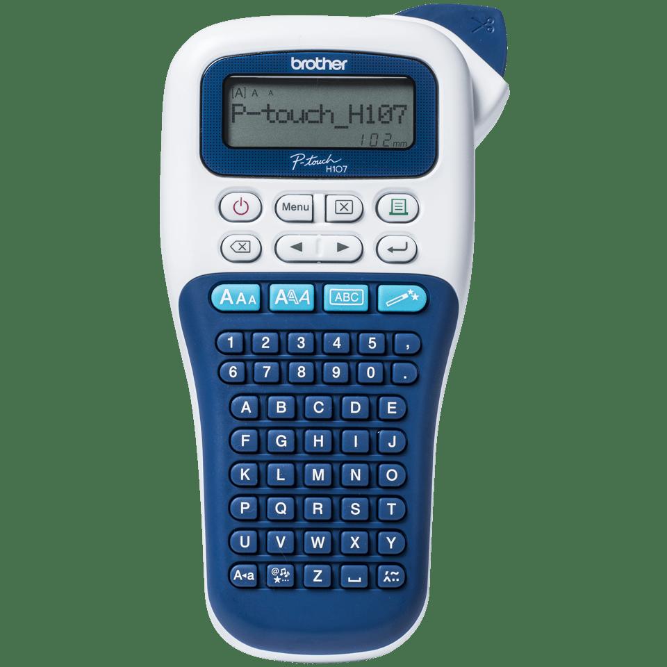 PT-H107 imprimante d'étiquettes portable P-touch 12mm 2