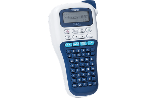P-touch PT-H107B Ručný model tlačiarne štítkov 3