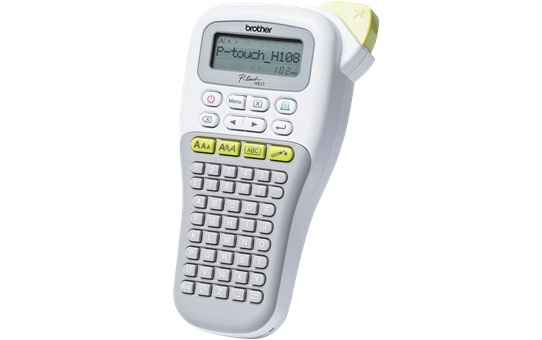 PT-H108G P-touch Handheld Label Printer