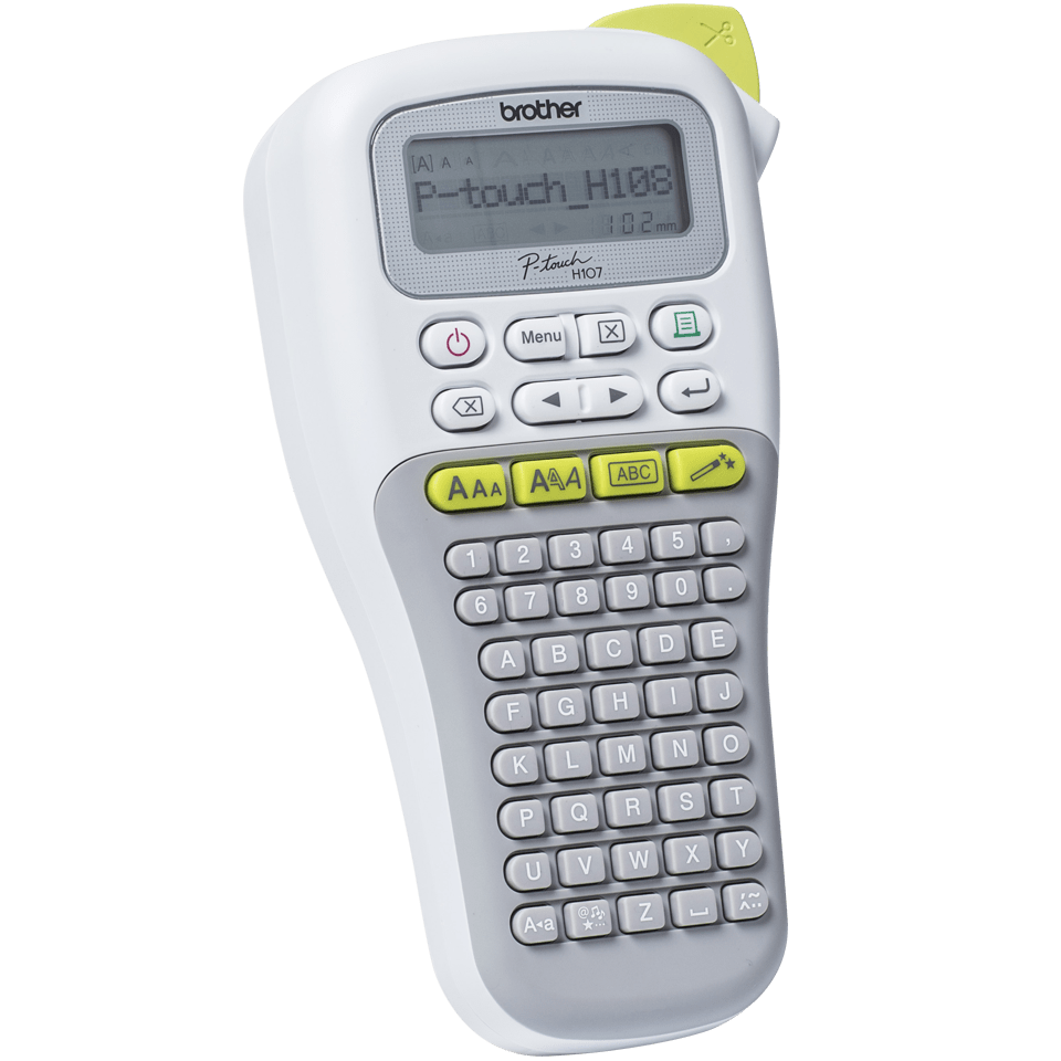 PT-H108G P-touch Handheld Label Printer 2