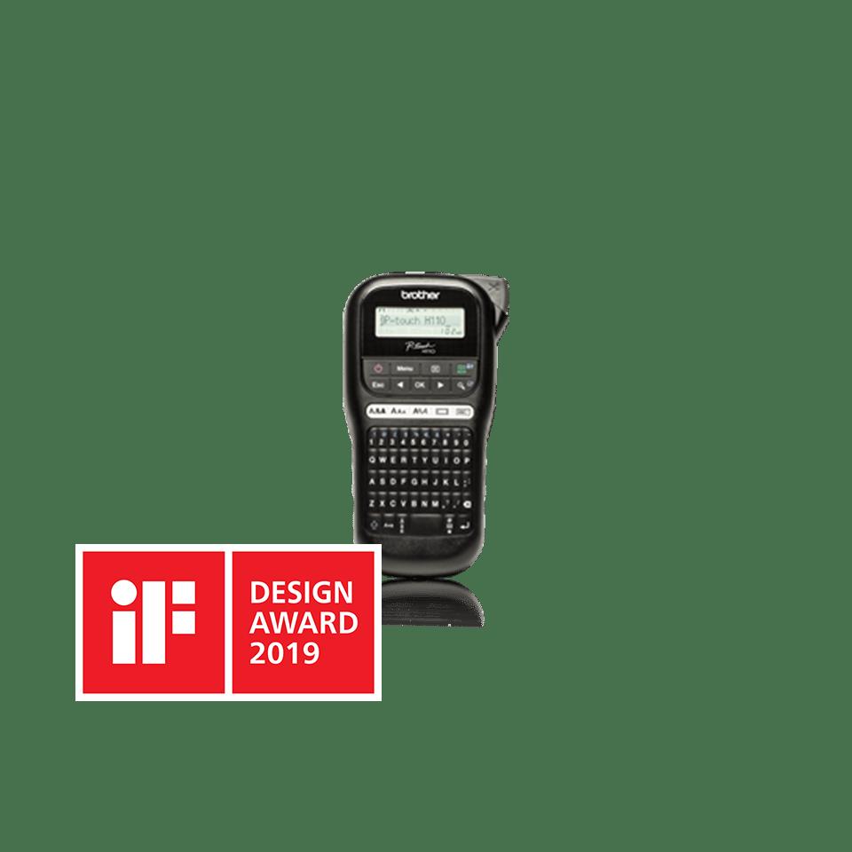 Brother PTH110 merkemaskin med IF Design Award logo