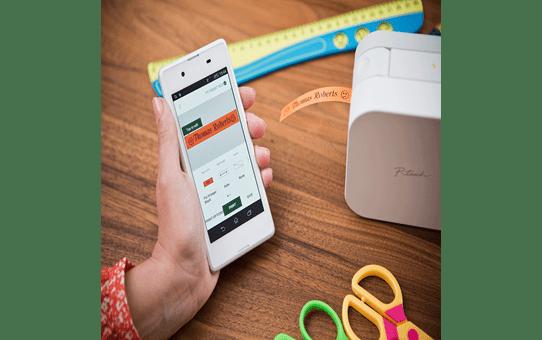 P-touch CUBE Label Printer + Bluetooth PT-P300BT 6