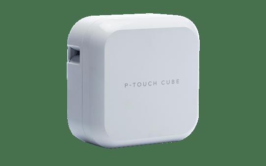 PT-P710BT CUBE Plus oplaadbare labelprinter met Bluetooth (wit) 2