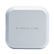 P-touch CUBE Plus white version PT-P710BTH - front shot