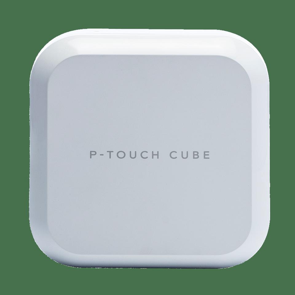 PT-P710BTH P-touch CUBE Plus version blanche  - face avant