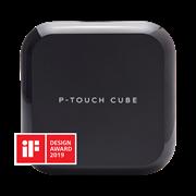 Brother P-touch P710BT CUBE Plus merkemasin med IF Design Award logo