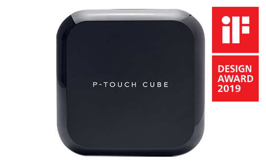 IF Design 2019_P-touch-cube