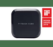 PT-P710BT P-touch CUBE - Drukarka etykiet z możliwością ponownego ładowania oraz Bluetooth