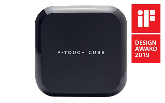 PT-P710BT P-touch CUBE - Drukarka etykiet z możliwością ponownego ładowania oraz Bluetooth 3