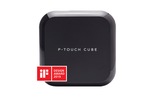 P-touch CUBE Plus (PT-P710BT) 24mm labelprinter met Bluetooth aansluiting 3