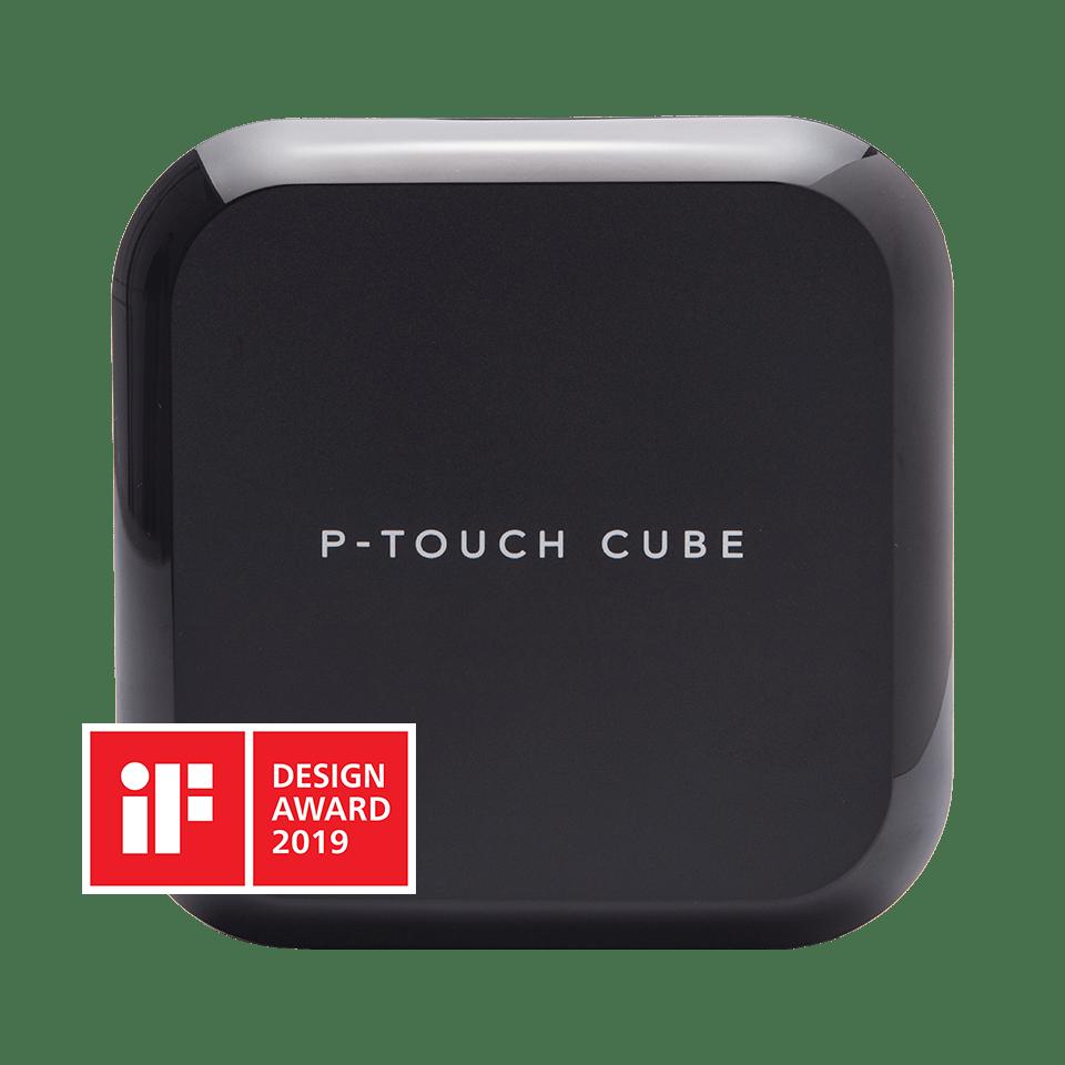 PT-P710BT CUBE Plus oplaadbare labelprinter met Bluetooth