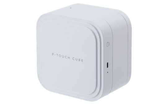 P-touch CUBE Pro (PT-P910BT) rechargeable label printer with Bluetooth 4