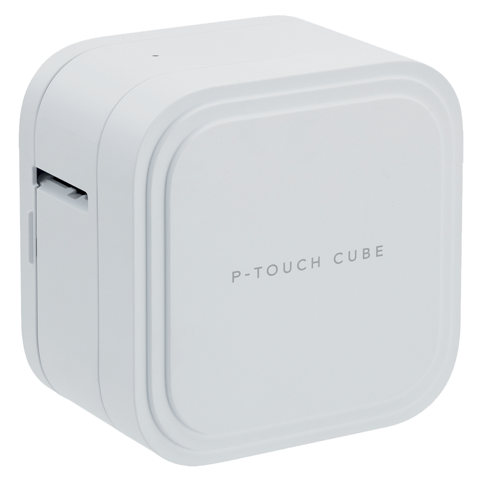 P-touch CUBE Pro (PT-P910BT) rechargeable label printer with Bluetooth 2