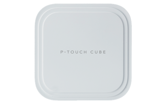 P-touch CUBE Pro (PT-P910BT) rechargeable label printer with Bluetooth