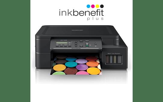Barevná inkoustová tiskárna DCP-T525W Inkbenefit Plus 3 v 1 od společnosti Brother 7