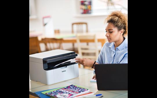 Wireless 3-in-1 Mono Laser Printer - DCP-1610WVB All in Box Bundle 3