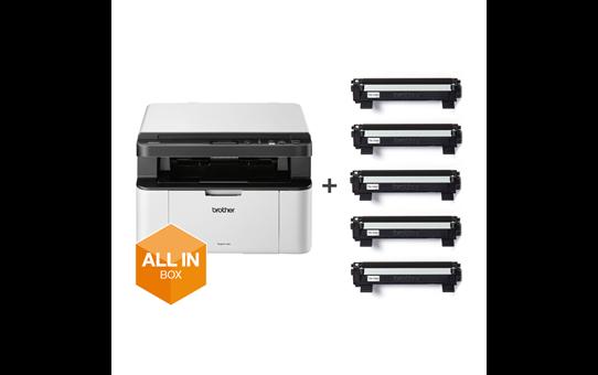 DCP-1610W All in Box Bundle - Wireless 3-in-1 Mono Laser Printer 6