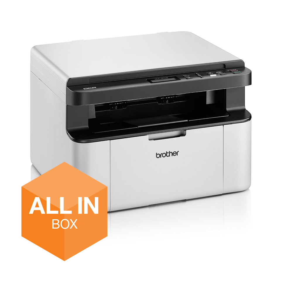 DCP-1610WVB - alt-i-én s/h-laserprinter, All In Box-pakke 2