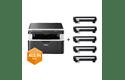 Draadloze all-in-one zwart-witlaserprinter DCP-1612W All-in-Box bundel 2