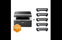 DCP-1612WVB  Pack All In Box imprimante multifonction 3-en-1 laser monochrome WiFI 6