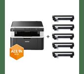 DCP-1612WVB  Pack All In Box imprimante multifonction 3-en-1 laser monochrome WiFI