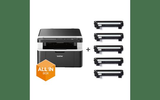 DCP-1612W All in Box Bundle - Wireless 3-in-1 mono laser printer