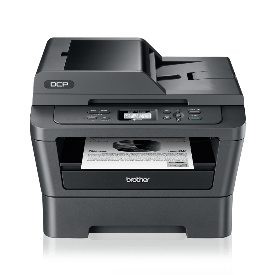DCP-7065DN all-in-one zwart-wit laserprinter 2