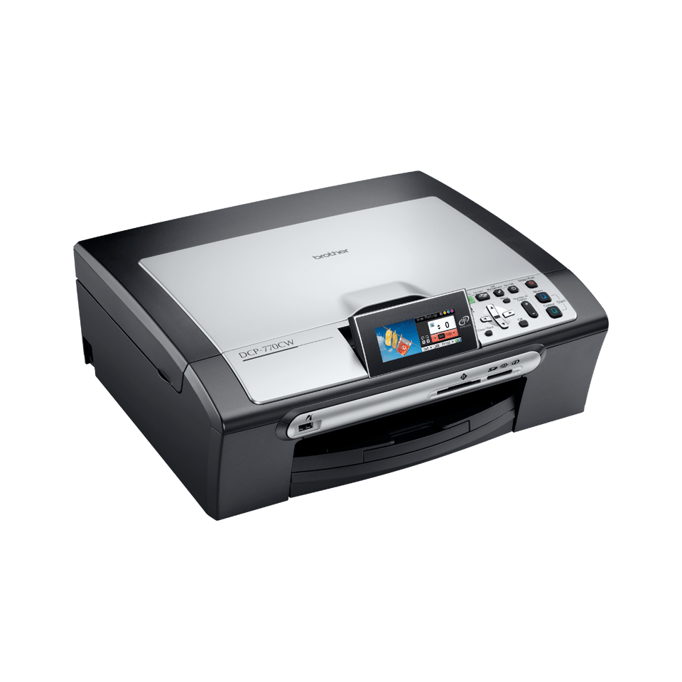 DCP-770CW all-in-one inkjetprinter 3