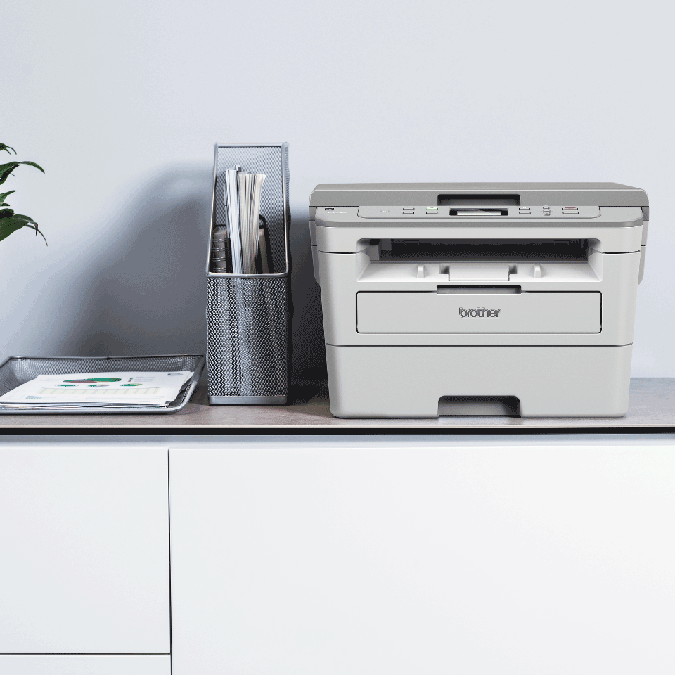 DCP-B7520DW kompaktní drátová & bezdrátová 3-v-1 tonerbenefit mono laserová tiskárna 5