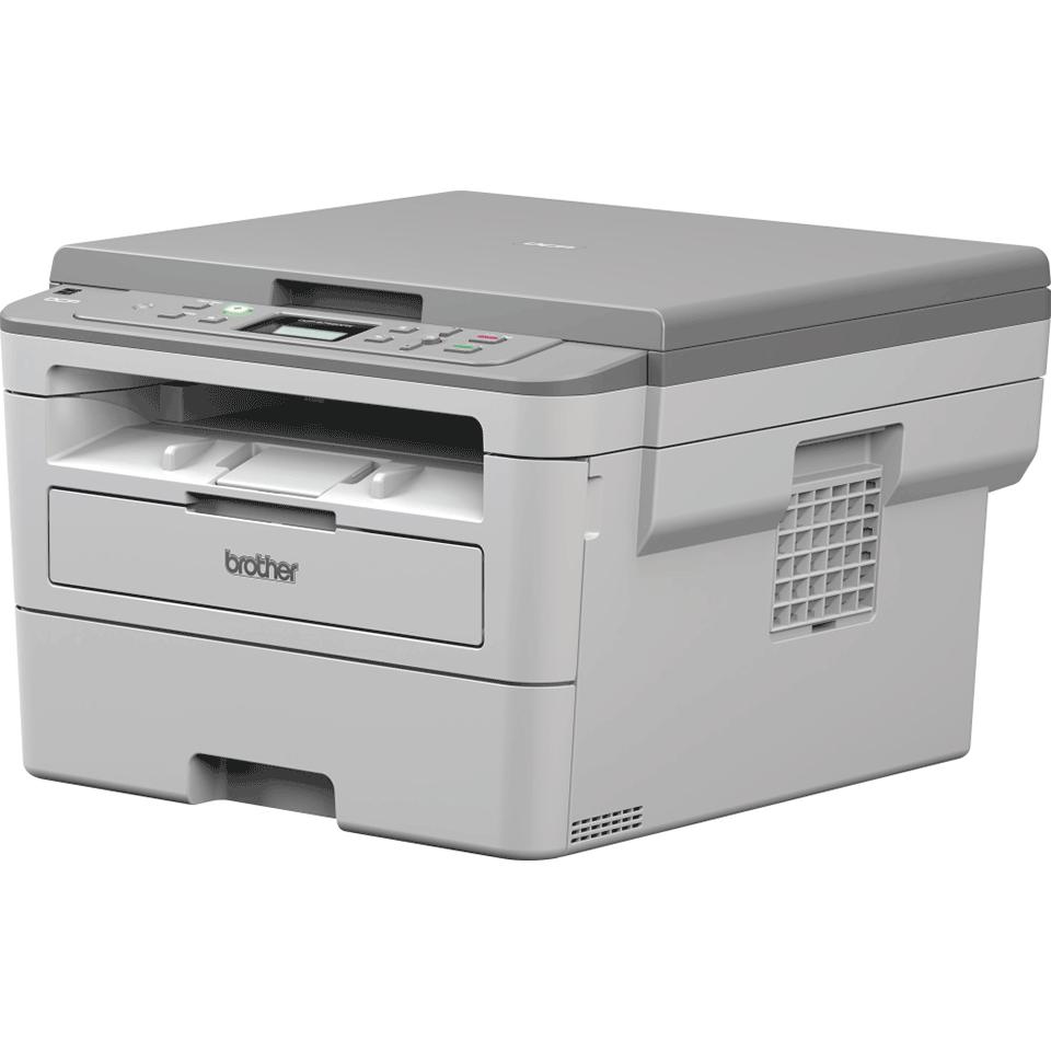 DCP-B7520DW kompaktní drátová & bezdrátová 3-v-1 tonerbenefit mono laserová tiskárna 2